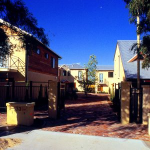 quadrangle townhouses